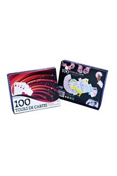 Jeux d'imitation Imagin Coffret de magie - 100 tours de cartes