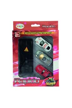 Véhicules miniatures Imagin 3 voitures avec lanceur