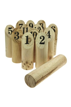 Jeux en famille Imagin Jeu de quilles nordiques - bois