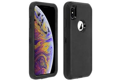 coque apple iphone xs noir