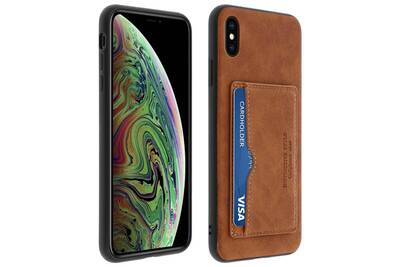 coque porte carte iphone xs max