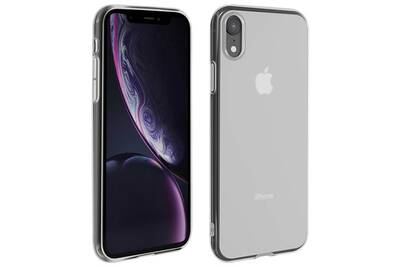 coque iphone xr silicone blanc
