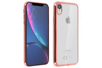 coque apple iphone xr rose