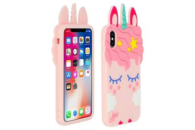 coque licorne iphone 4 silicone