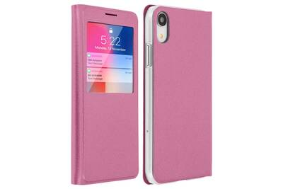 coque iphone xr antichoc clapet