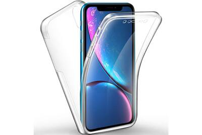 coque iphone xr antichoc avant et arriere