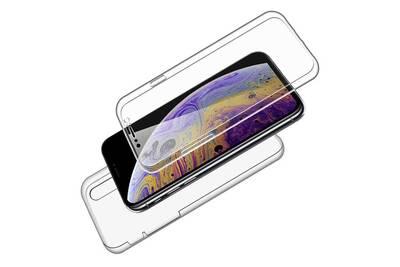 coque iphone xr 2 en 1
