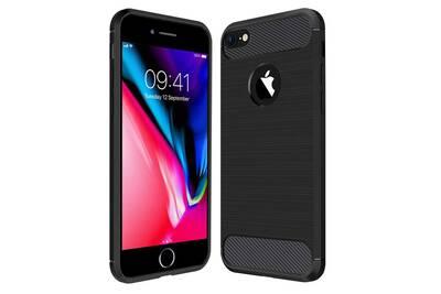 coque iphone 8 en carbone