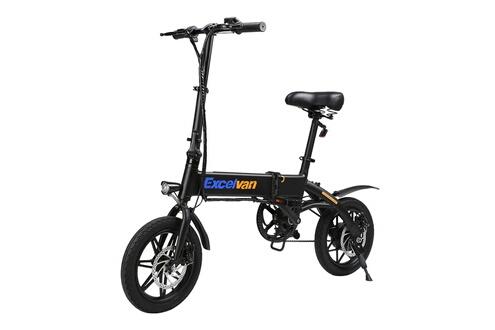 3d68e3984bda8 Vélo électrique Vélo électrique pliable 25km/h - 14 pouces- noir Excelvan