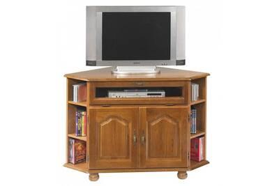 Meuble Tv Beaux Meubles Pas Chers Meuble Tv D Angle Chene Rustique