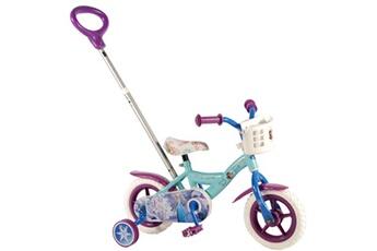 Vélos enfant Guizmax Velo 10 pouces la reine des neiges disney canne parentale