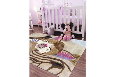 Tapis chambre chat beige 60 x 90 cm tapis pour enfants chambre par impalo