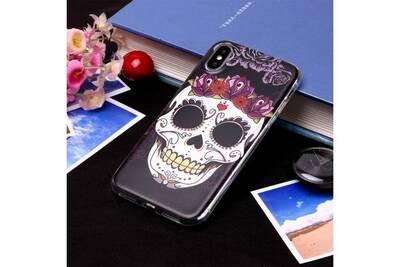 iphone xs max coque tete de mort