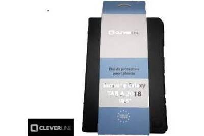 8d7b311a73f78 Housse et étui pour tablette CLEVERLINE Coque housse pour tablette samsung  galaxy tab a 10.5 2018 sm-t590 noire