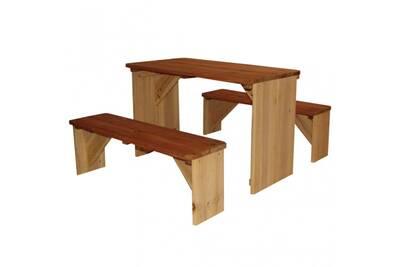 Table de pique-nique pour enfants en bois iro cs4022251