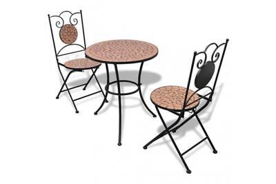 Table d\'extérieur avec 2 chaises en terre cuite cs2717701