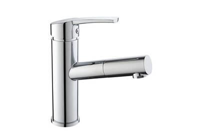 Robinet salle de bain Homelody Mitigeur lavabo chromé douchette ...