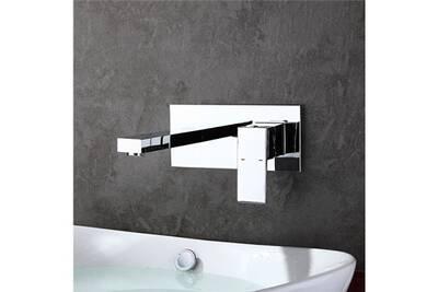 Robinet salle de bain mural design moderne