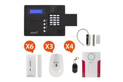 St-v - alarme maison sans fil gsm application smartphone kit max 1 (md-334r)
