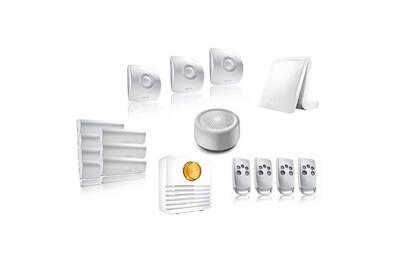 alarme maison somfy pack alarme connect e somfy tahoma. Black Bedroom Furniture Sets. Home Design Ideas