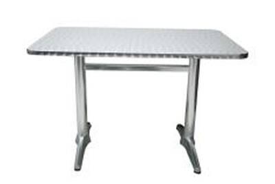 Table de jardin Pegane Table jardin en aluminium avec plateau en ...