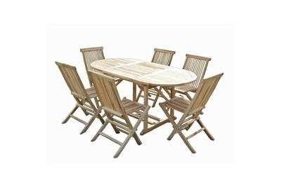 Table de jardin Ma Maison Mes Tendances Ensemble table de jardin ...