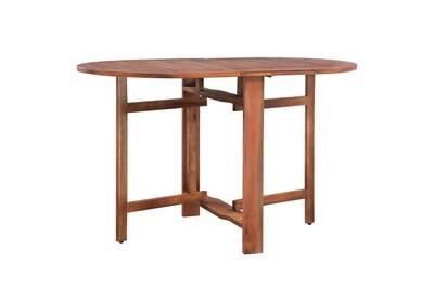 Ensemble table et chaise de jardin Vidaxl Table ovale d\'extérieur à ...