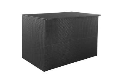 plus récent 2e7c9 ab1cf Meubles de jardin gamme lusaka boîte de rangement d'extérieur résine  tressée 150x100x100 cm