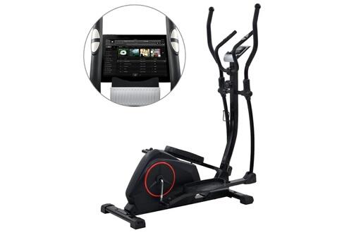 Vélo elliptique magnétique avec mesure du pouls xl