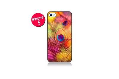 coque iphone 5 plume