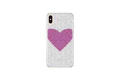 coque iphone xs avec coeur