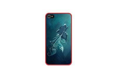 coque iphone 4 plume