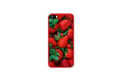 coque iphone 5 fraise
