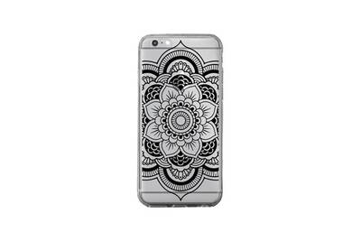 coque iphone 6 plus mandala noir