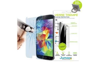protection cran smartphone jumao lot de 2 film protecteur verre tremp pour samsung galaxy j3. Black Bedroom Furniture Sets. Home Design Ideas