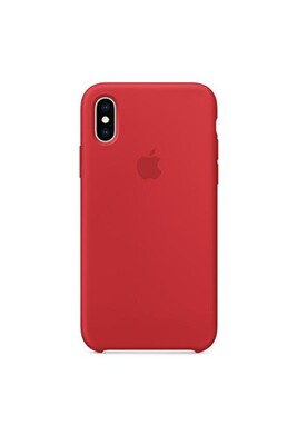 Coque silicone iphone xr - rouge
