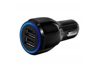 Chargeur portable Prixwhaou Chargeur allume cigare 5v 2.1 a