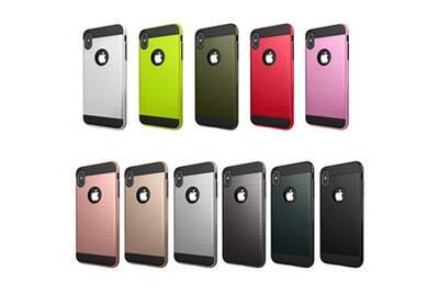 coque antichoc iphone xr rouge
