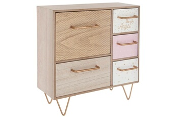 Commode bébé Atmosphera For Kids Meuble design 5 tiroirs \