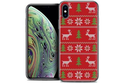 coque iphone xs max ultra fine rouge