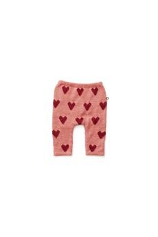 Cadeau Naissance Oeuf Baby Clothes Pantalon alapaga rose cours rouges 12m