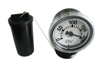 Accessoires chauffage central Oventrop Jauge mécanique de niveau de fuel