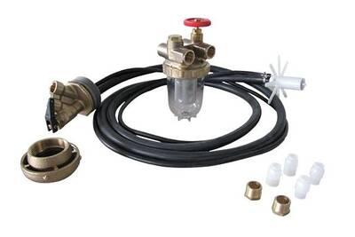 Accessoires chauffage central Oventrop Complet mazout pour cuve plastique - ensemble complet de raccordement cuve/brûleur