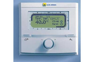 Accessoires chauffage central Elm Leblanc Regulation s/fil programmable nsc-rf - regulation s/fil programmable nsc-rf
