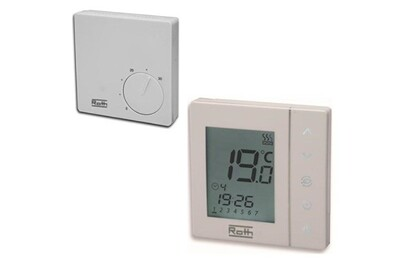Accessoires chauffage central Roth Thermostat basicline h 230 v - thermostat programmable basicline t 230 v
