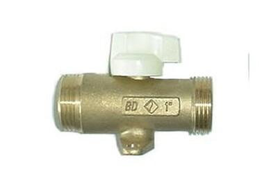 Accessoires chauffage central Banides Et Debaurain Robinet pression maxi 37 mbar - double mâle 15/21