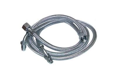 """Accessoires chauffage central Diff Flexible fioul - f3/8""""x m1/4"""" à bague coudé 90° lg 900mm (2 pcs) - f3/8""""x m1/4"""" à bague coudé 90° lg 900mm (2 pcs)"""