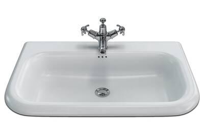 Clearwater vasque à encastrer en pierre naturelle tradition 75