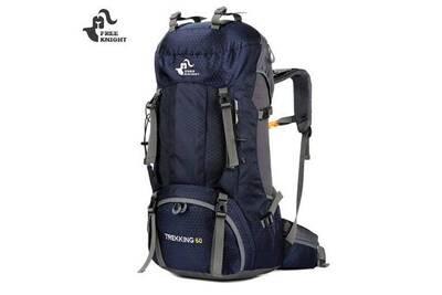 meilleure sélection f8121 d4a02 Sacs à dos pour randonnée- fk0395 60l sac à dos d'escalade avec housse de  pluie