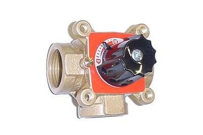 Accessoires chauffage central THERMADOR Vanne mélangeuse 3 voies en laiton termomix - filetage 20/27